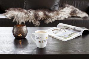 Limited edition på Lykkekopper. Du finner de koselige kaffekoppene  i nettbutikken.