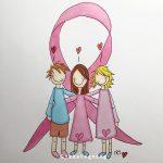 Oktober er rosa sløyfe måned! Støtt alle de gode aksjonene der ute <3