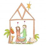 Jul hos Lykketegning