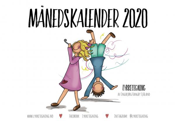 Månedskalender 2020